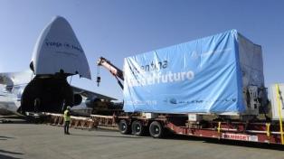 El satélite argentino Saocom 1B ya está en Cabo Cañaveral