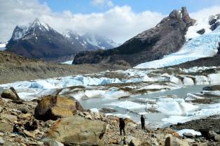 """Los """"glaciares escondidos"""" del sur de Santa Cruz"""