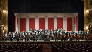 Conciertos presenciales y por streaming de la Filarmónica y de la Orquesta Estable del Colón