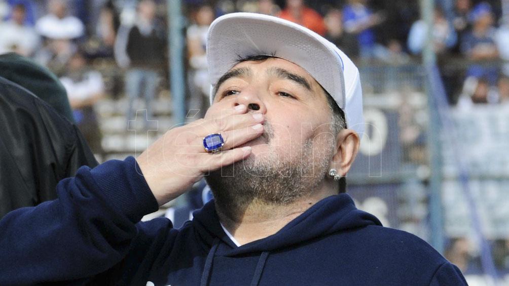 Maradona pidió en un video comida para los más necesitados