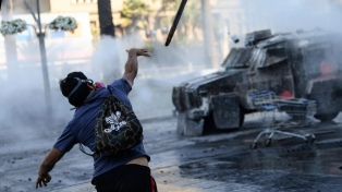 """""""No hablemos después de derechos humanos"""", dijo un general de Carabineros"""
