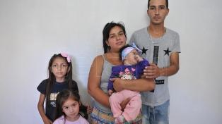 Madre de beba con Síndrome de Wolf solicita ayuda habitacional