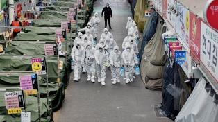 Corea del Sur reportó 63 nuevos casos y temen por brotes fuera de Seúl