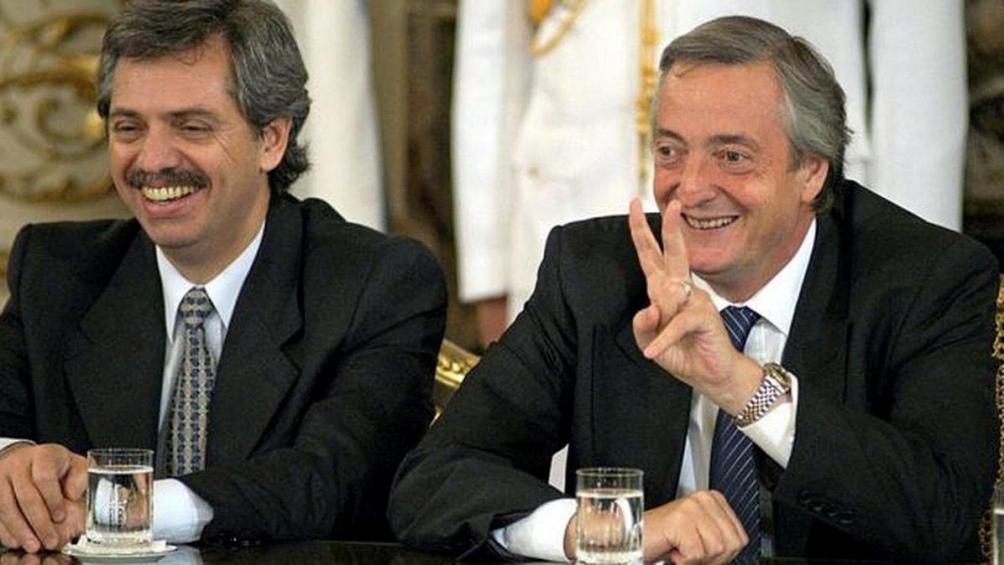 El presidente recordó a Néstor Kirchner, a 17 años de su asunción ...