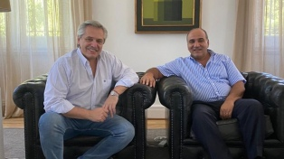 Manzur propuso a Alberto Fernández como presidente del PJ nacional