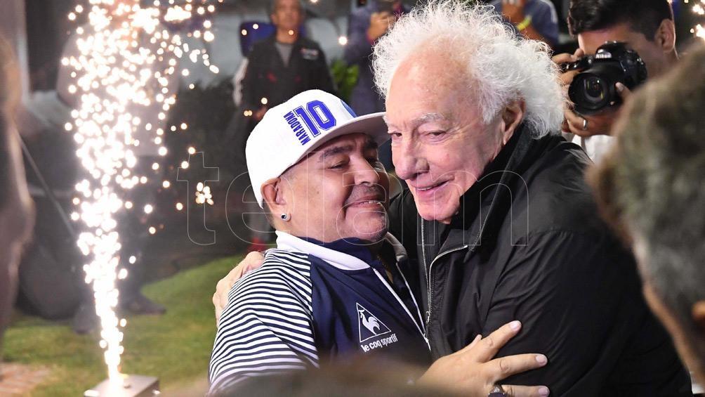 Diego y Coppola volvieron a reunirse en los últimos años.