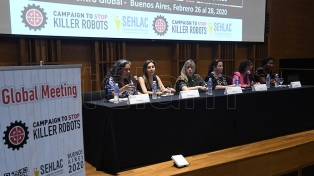 """Arranca en Buenos Aires un encuentro contra el desarrollo de """"robots asesinos"""""""