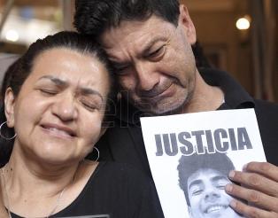 """""""Siento que Fernando está acá"""", dijo Graciela durante el homenaje a su hijo"""