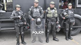 """La ONU pidió a Colombia una """"profunda transformación"""" de la policía antidisturbios"""