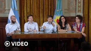 """Kicillof lanzó Comprá Cerca: """"Había que tener un GPS para encontrar Precios Cuidados"""""""