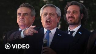 """Fernández aseguró que el país """"no tiene más espacio para soportar al crimen organizado"""""""