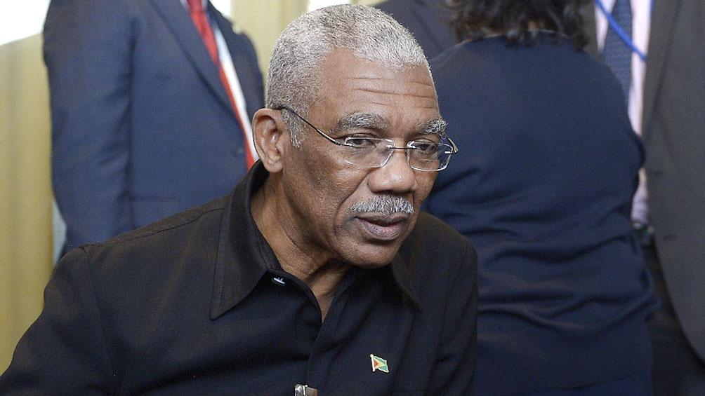 David Granger, presidente de Guyana