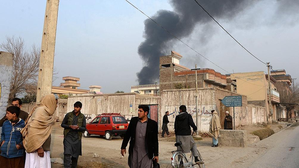 Los terroristas dispararon 23 cohetes contra la ciudad de Kabul