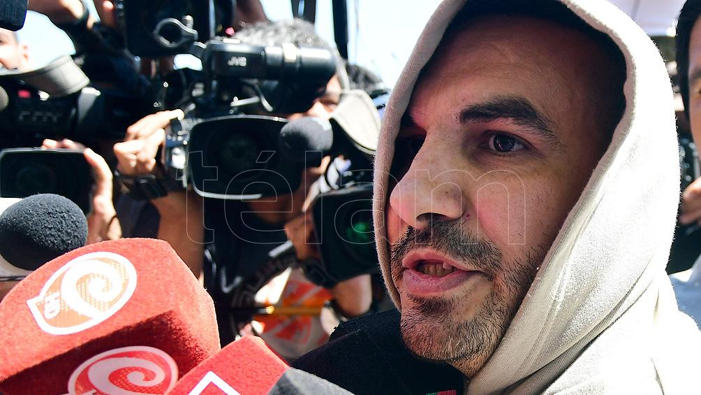 Piden la detención de Tablado por violar la perimetral sobre el padre de Carolina