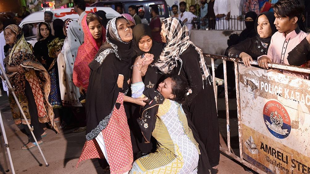 Murieron 12 personas por la explosión de una bomba en una mezquita de Afganistán