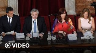 Reforma judicial: cuáles son los ejes del proyecto de Alberto Fernández