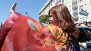 "Cristina Kirchner: ""El colectivo feminista argentino sigue avanzando... Ya nada volverá a ser como antes"""