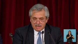 Fernández ratificó ascenso post mortem de los marinos del ARA San Juan