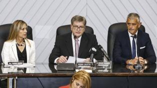 """""""Hoy La Pampa existe para el gobierno nacional"""", afirmó Ziliotto al inaugurar sesiones en Diputados"""