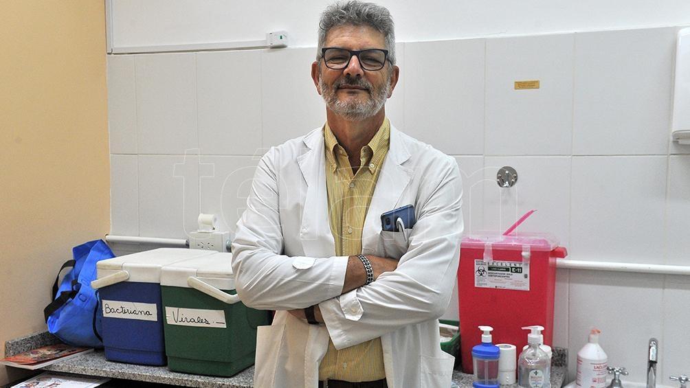 """Stecher aconsejó realizarse los controles periódicos porque """"en los centros de salud tienen las medidas necesarias para evitar contagios""""."""