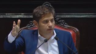 """Kicillof respaldó a Sabbatella y dijo lo condenaron por la """"justa aplicación"""" de Ley de Medios"""