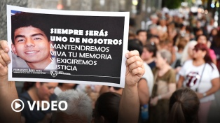 Con una multitudinaria misa en su colegio, recordaron a Fernando Báez Sosa el día de su cumpleaños