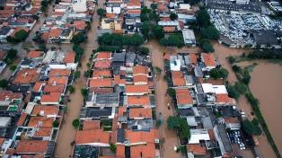 Al menos 13 muertos y 45 desaparecidos por las lluvias en la costa de San Pablo