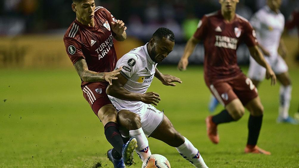 Liga de Quito debe enfrentar a River por la revancha de la fase de grupos de la Copa Libertadores (foto Archivo)