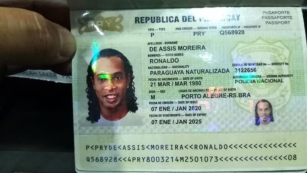 El ex futbolista fue acusado pro falsificación de documentos (foto archivo)