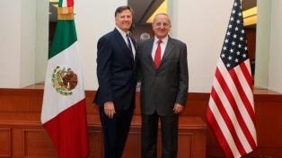 México y EE.UU. acordaron mantener estrecha coordinación para gestionar la frontera