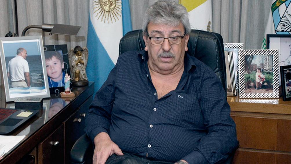 Ramón Ayala secretario general de la Unión Argentina de Trabajadores Rurales y Estibadores (Uatre)