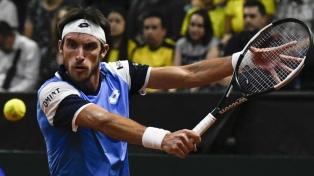 Argentina y Colombia terminan iguales tras los dos primeros singles de la serie en Bogotá