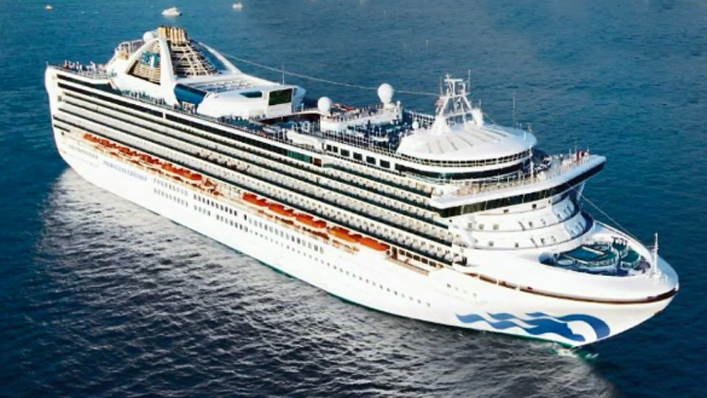 Confirman 21 casos en un crucero frente a las costas de California