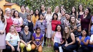 """Fabiola Yáñez participó del encuentro de """"Mujeres Reales"""" en Misiones"""