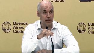 El Gobierno porteño suspende por 30 días todo acto con más de 200 personas