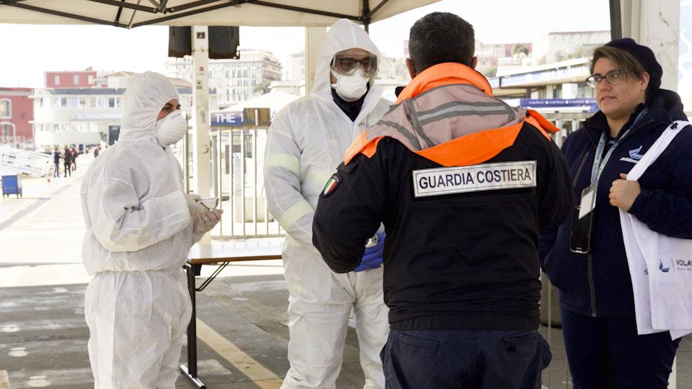 Italia: leves bajas en cantidad de contagios y víctimas por segundo día consecutivo