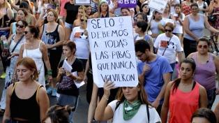 Marcharon en Paraná por el Día de la Mujer y el femicidio de Fátima Acevedo