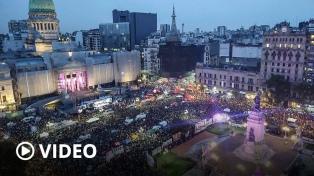 """Violencia, aborto y feminización de la pobreza, las """"deudas"""" reclamadas en las calles del 8M"""