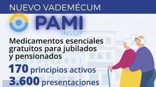 Los nuevos medicamentos gratuitos que tienen los afiliados del PAMI