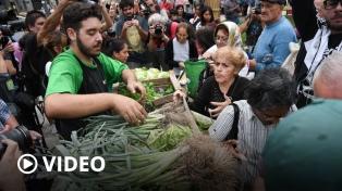 """""""Verdurazo"""" para protestar por el paro de las entidades del campo"""