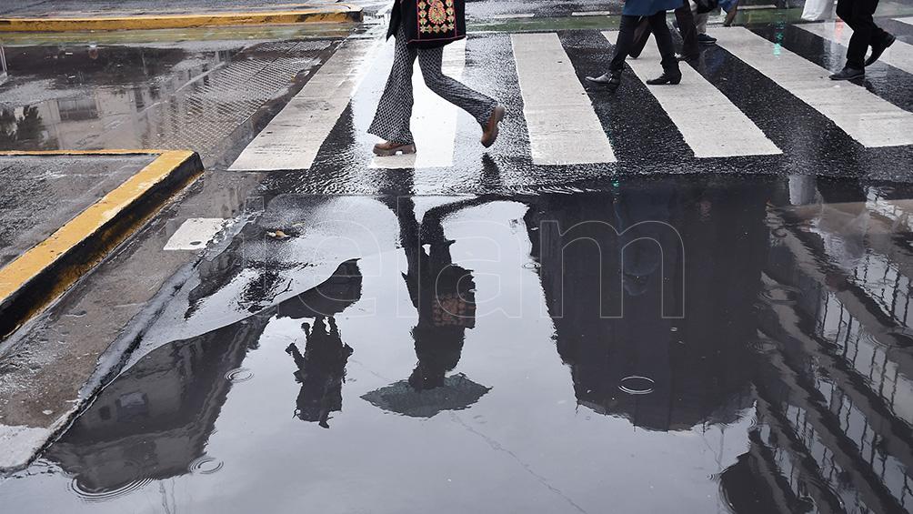 Viernes con lluvias aisladas y una máxima de 25 grados en la Ciudad de Buenos Aires