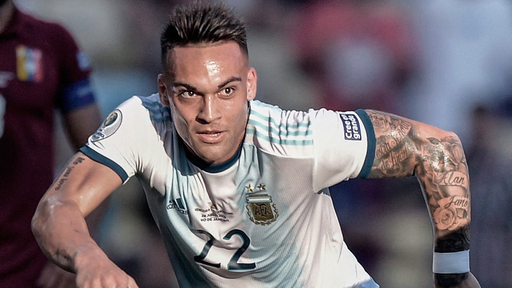 El DT del Barcelona admitió que le interesa Lautaro Martínez