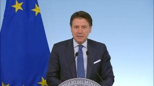 """Conte declara el """"bloqueo total"""" de Italia para contener el coronavirus"""