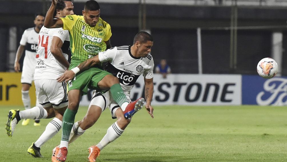 Defensa no conoce aún la victoria en la Copa Libertadores