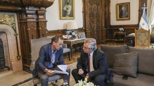 El Presidente se reunió con Katopodis por la firma de convenios con 343 intendentes