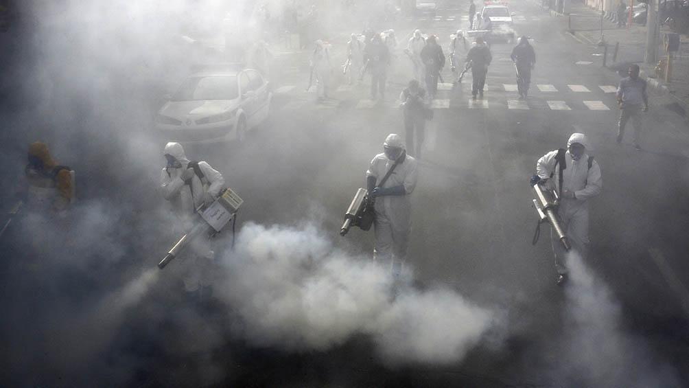 Irán confirmó más de 1.400 nuevos casos y ya pasó los 1.800 muertos (foto archivo)