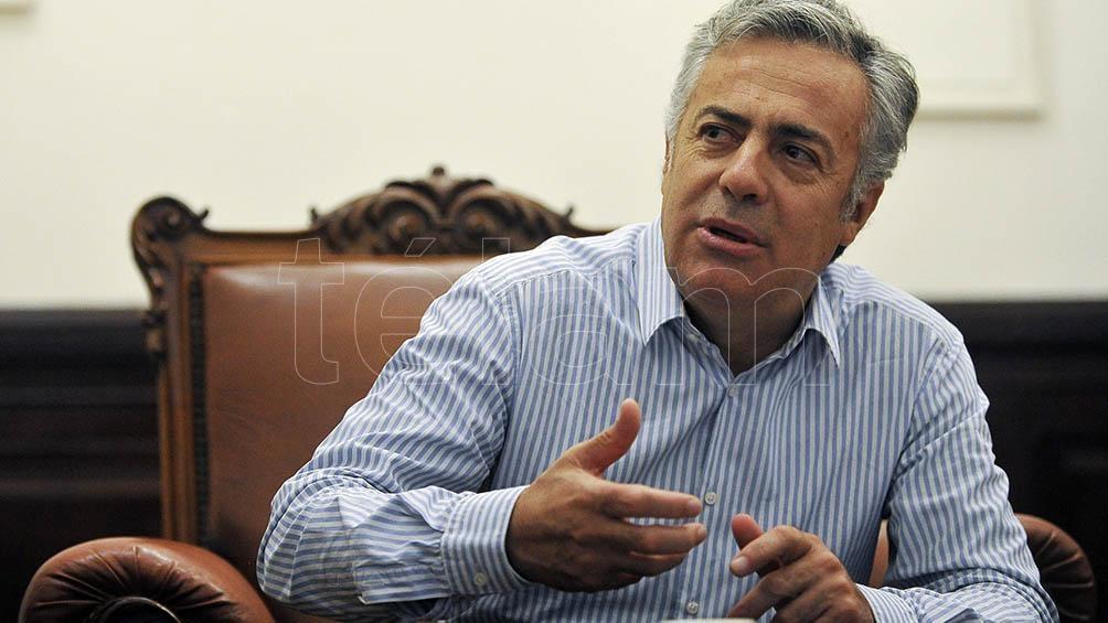 Alfredo Cornejo representó a la UCR en el debate.
