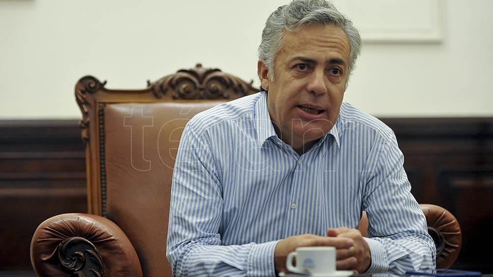 Alfredo Cornejo fue gobernador de la provincia de Mendoza desde 2015 hasta 2019
