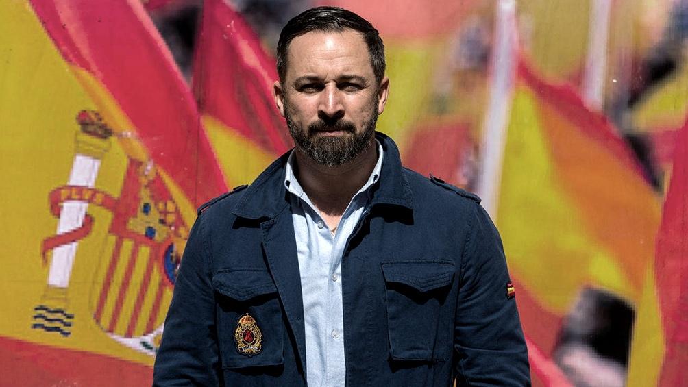 Santiago Abascal anunció una moción de censura