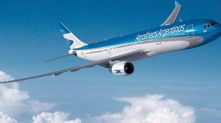 Aerolíneas reanuda el lunes sus vuelos especiales para traer argentinos del exterior